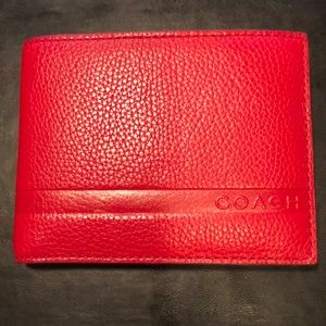 Coach Men's Double Bill Wallet